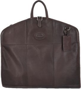 Мужской дорожный портплед для костюма Ashwood Leather 8145 Brown из коричневой кожи