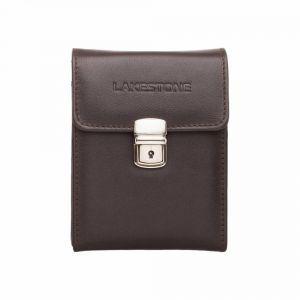 de266536e9f7 Мужская кожаная сумка для документов Lakestone Tormarton Brown коричневая  ...