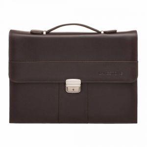 b79a50aadfcf Папка-портфель для документов Lakestone Thomas Brown мужской кожаный  коричневый ...